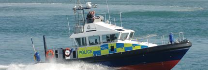 15m MOD Police Patrol Boat