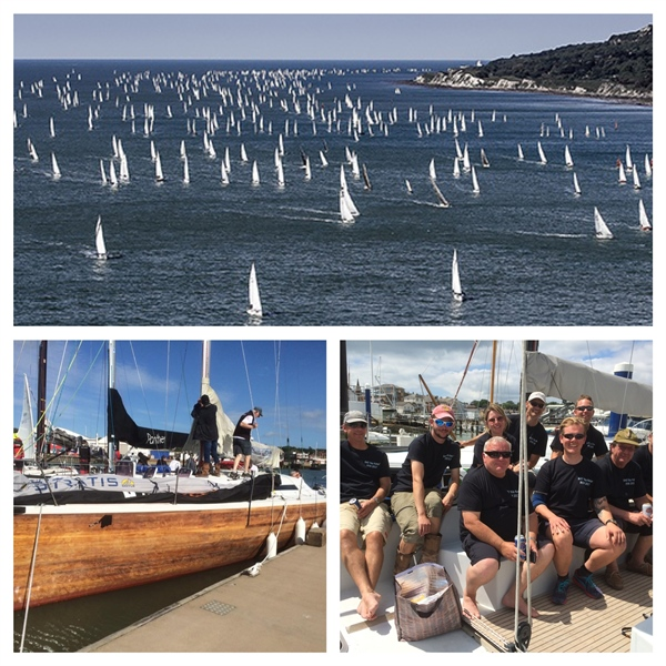 """Buckley Yacht Design/CML out in their B45 """"Kia Kaha"""