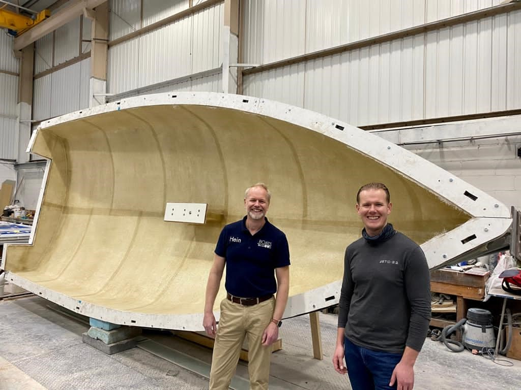 Buckley Yacht Design appoints Boats on Wheels as their South Coast Agent for the BTC-22
