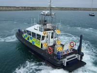 GRP Mouldings 15M HMS Patrol Boat for Holyhead Marine