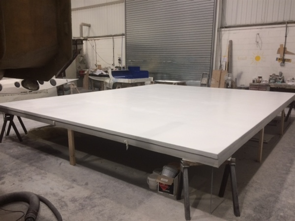 CML invest in resin infusion table